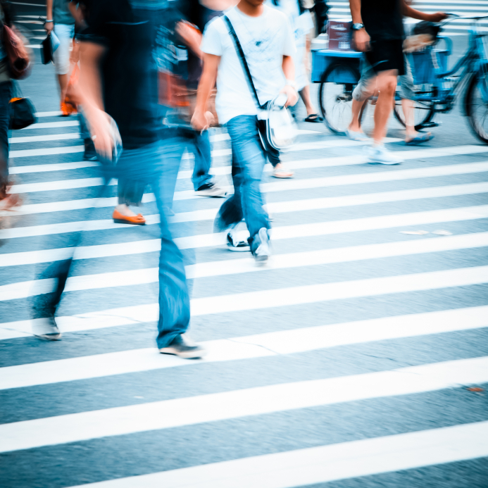 ways to squander influence city street crosswalk
