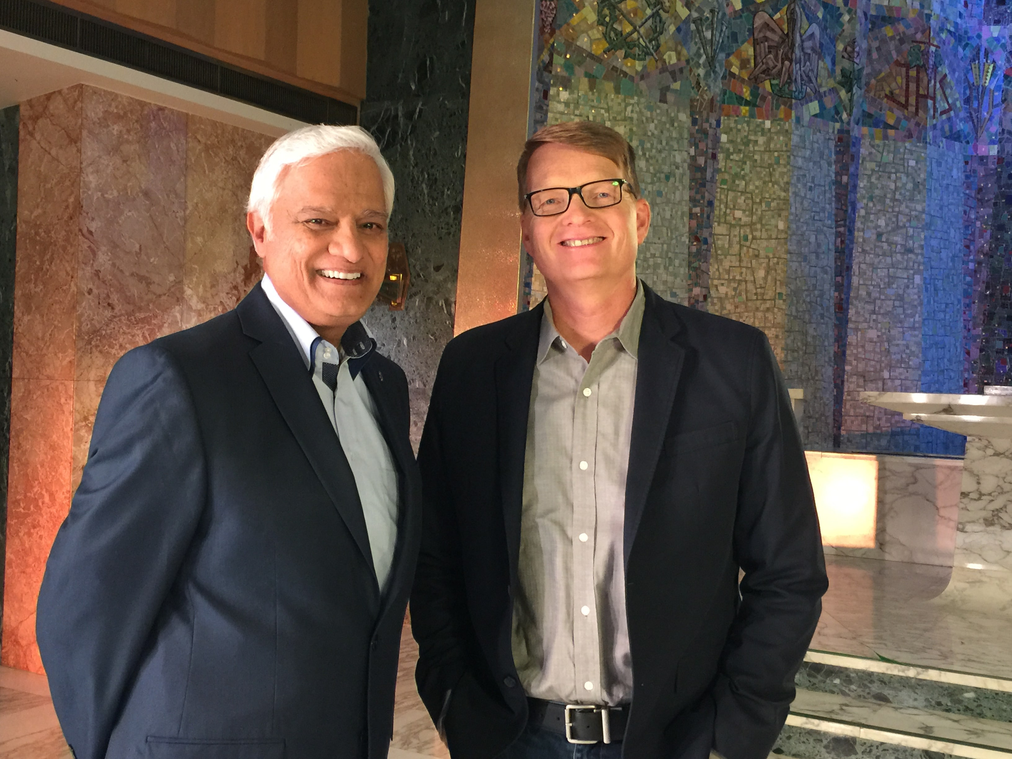 Ravi Zacharias and Carey Nieuwhof
